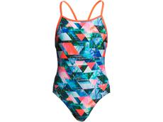 Funkita Split Scene Girls Badeanzug Diamond Back
