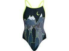 Funkita Moonlighting Girls Badeanzug Diamond Back