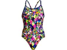 Funkita Princess Cut Ladies Badeanzug Diamond Back - 38 (12)