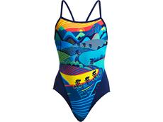 Funkita Allez Allez Ladies Badeanzug Single Strap