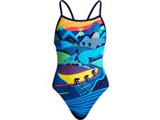 Funkita Allez Allez Girls Badeanzug Single Strap
