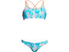 Funkita Pastel Paradise Girls Schwimmbikini Criss Cross