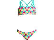 Funkita Minty Mittens Girls Schwimmbikini Criss Cross