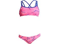 Funkita Rock Salt Girls Schwimmbikini Criss Cross