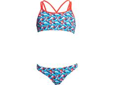 Funkita Swallowed Up Girls Schwimmbikini Criss Cross