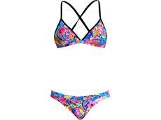 Funkita Club Tropo Ladies Schwimmbikini Tri Top + Hipster Brief