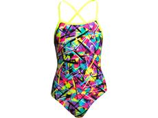 Funkita Spray On Girls Badeanzug Strapped In