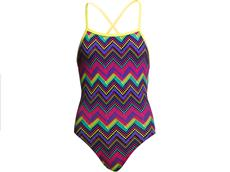Funkita Knitty Gritty Girls Badeanzug Strapped In