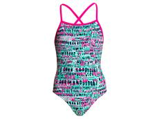 Funkita Minty Madness Girls Badeanzug Strapped In - 140 (8)