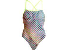 Funkita Glitter Girl Ladies Badeanzug Strapped In
