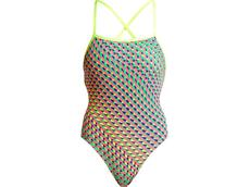 Funkita Glitter Girl Ladies Badeanzug Strapped In
