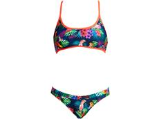 Funkita Tropic Team Ladies Schwimmbikini Tie Down Top + Hipster Brief - 34 (8)