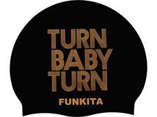 Funkita Turn Baby Turn Silikon Badekappe