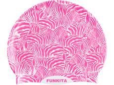 Funkita Painted Pink Silikon Badekappe