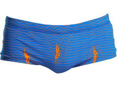 Funky Trunks Ocean Swim Men Badehose Plain Front Trunks