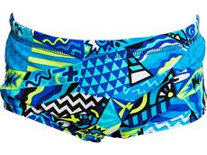 Funky Trunks Rock Steady Toddler Badehose Printed Trunks