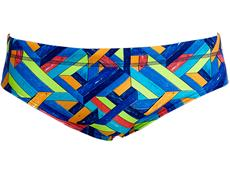 Funky Trunks Boarded Up Men Badehose Classic Briefs