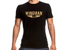 Funky Trunks Gold Wingman T-Shirt Crew Neck