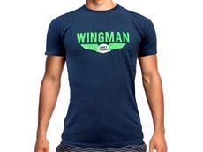 Funky Trunks Navy Wingman T-Shirt Crew Neck