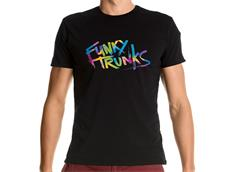 Funky Trunks Trunk Tag T-Shirt Crew Neck - XL