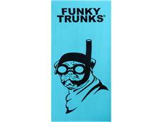 Funky Trunks Snorkel Pug Handtuch
