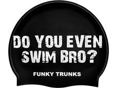 Funky Trunks Swim Bro? Silikon Badekappe