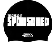 Funky Trunks Sponsored Head Silikon Badekappe