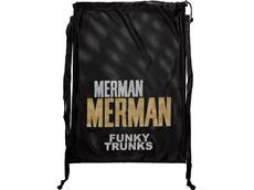 Funky Trunks Mesh Gear Bag Tasche Golden Merman