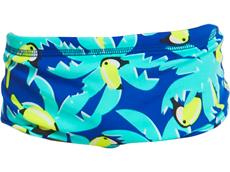 Funky Trunks Bird Brain Toddler Badehose Eco Printed Trunks