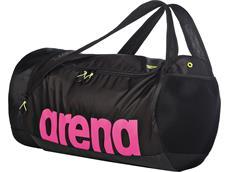 Arena Fast Duffle Tasche Rucksack 50 Liter - black/fuchsia