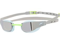 Speedo Fastskin Elite Mirror Schwimmbrille oxid grey/sky/chrome