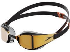 Speedo Fastskin Hyper Elite Mirror Schwimmbrille black/gold