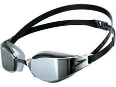 Speedo Fastskin Hyper Elite Mirror Schwimmbrille black/silver