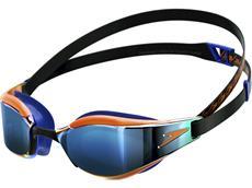 Speedo Fastskin Hyper Mirror Junior Schwimmbrille black/blue