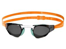 Speedo Prime Goggle Mirror Schwimmbrille jaffa orange/peppermint/smoke