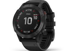 Garmin Fenix 6 Pro Sapphire GPS Multisportuhr schwarz inkl. 2 Armbänder