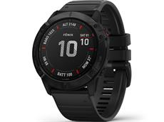 Garmin Fenix 6X Pro GPS Multisportuhr schwarz