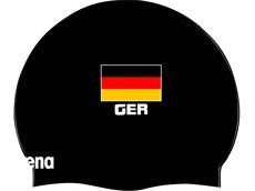 Arena Flat GERMANY Flag Silikon Badekappe