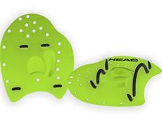 Head Flat Paddles Handpaddles lime/black