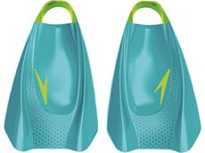 Speedo Fury Training Fin Kurzflosse blue/green