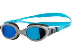 Speedo Futura Biofuse Flexiseal  Schwimmbrille Mirror charcoal-grey/blue mirror