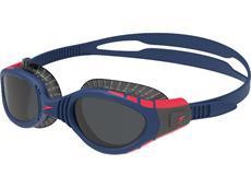 Speedo Futura Biofuse Flexiseal Tri Schwimmbrille navy/phoenix red/charcoal