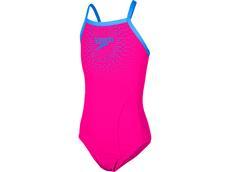 Speedo Gala Logo Mädchen Badeanzug Thinstrap - Endurance10