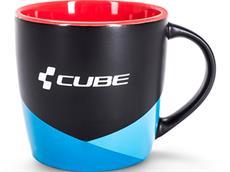 Cube HPC Kaffeetasse black'n'blue'n'red