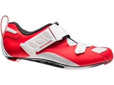 Bontrager Hilo Men's Triathlon Schuh - 45 red/white