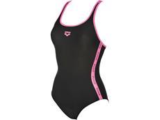 Arena Hyper Badeanzug Swim Pro Back - 42 black/paparazzi