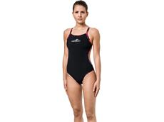 Aquafeel I-NOV Camou Splash Black Badeanzug V-Back