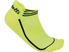 Castelli Invisibile Women Socken - L/XL yellow fluo