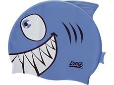 Zoggs Junior Character Cap Badekappe shark