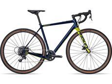 Ridley Kanzo C Adventure GRX800 2x11 Gravel Roadbike - XS jeans blue/lime green